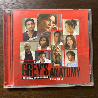 GREY'S ANATOMY Volume.2 CD(テレビドラマサントラ)