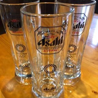 アサヒ(アサヒ)のオリンピックジョッキ スーパードライジョッキ 3個セット 送料無料(グラス/カップ)