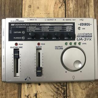 ローランド(Roland)のジャンク オーディオインターフェースEDIROL UA-3FX(オーディオインターフェイス)