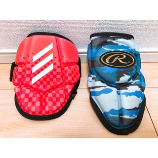 アディダス(adidas)のアディダス・ローリングス 軟式エルボーガード未使用(防具)