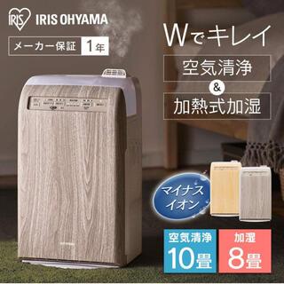 アイリスオーヤマ(アイリスオーヤマ)のアイリスオーヤマ 加湿空気清浄機 10畳 RHF-253-WM(空気清浄器)