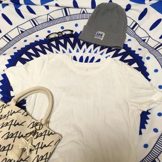 ムジルシリョウヒン(MUJI (無印良品))の無印良品 白Tシャツ(Tシャツ(半袖/袖なし))
