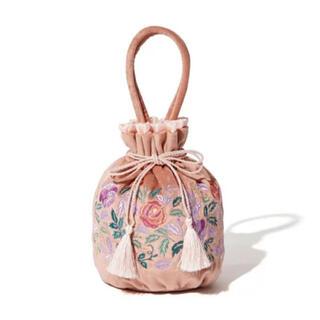 ANNA SUI - Francfranc ANNA SUI コラボ巾着バッグ