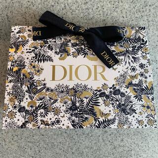ディオール(Dior)のDior ギフトボックス 最新 ホリデー  ショッパー ノベルティ ディオール(ラッピング/包装)