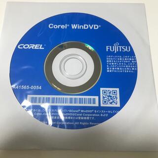 フジツウ(富士通)のcorel win DVD 富士通(その他)