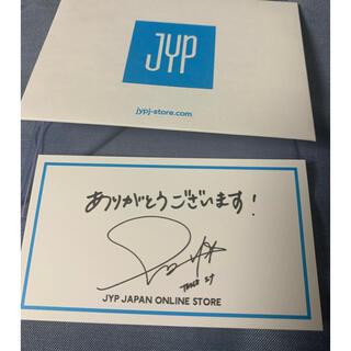 ウェストトゥワイス(Waste(twice))のtwice   JYP   サンキューカード  ミナ(K-POP/アジア)