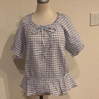 ピンクハウス(PINK HOUSE)の  ピンクハウス 半袖 ブラウス 新品未使用品(Tシャツ(半袖/袖なし))