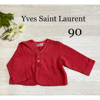 サンローラン(Saint Laurent)のカーディガン 90 イヴサンローラン レトロ レア 希少(カーディガン)