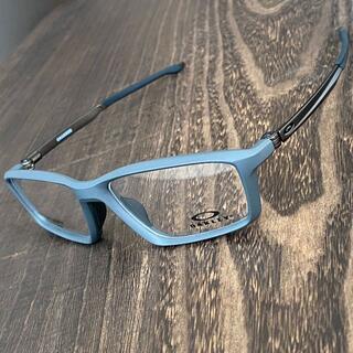 Oakley - メガネ オークリー チャンバー チタン フレーム 眼鏡 軽量 スポーツ グレー