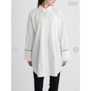 ミラオーウェン(Mila Owen)のMila Owen   変形パターンキャンペーンロングシャツ ロングシャツ(シャツ/ブラウス(長袖/七分))