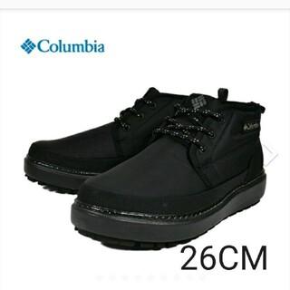 コロンビア(Columbia)のコロンビア Columbia スニーカーブーツ 防水 ブラック 黒 26(ブーツ)