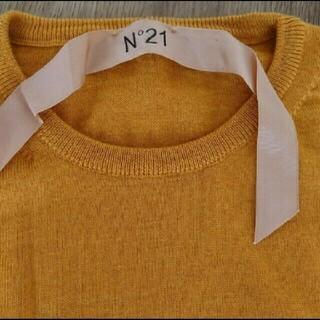 ヌメロヴェントゥーノ(N°21)のN゜21   ヌメロヴェントゥーノ リボンニット(ニット/セーター)