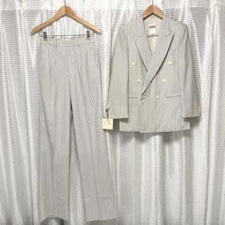 ジョンローレンスサリバン(JOHN LAWRENCE SULLIVAN)の70s White color over size doublet set up(セットアップ)