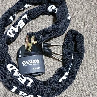 新品バイク盗難防止のチェーンロック鍵60cm