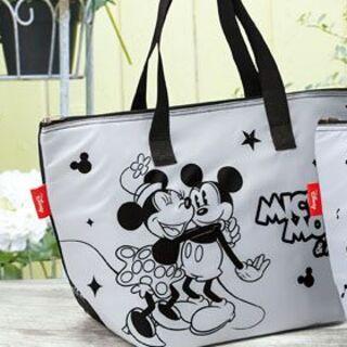 ミッキーマウス(ミッキーマウス)のみんなのキャラクタービッグ保冷温トート;Mickey Mouse&Friends(日用品/生活雑貨)