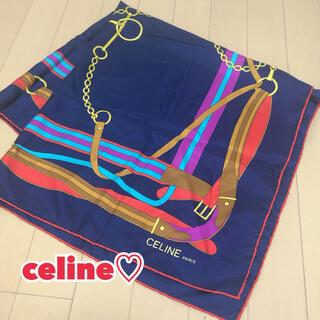 セリーヌ(celine)のCELINE  ヴィンテージ スカーフ(バンダナ/スカーフ)