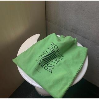 トゥデイフル(TODAYFUL)のyurika akutsu green tote bag (トートバッグ)