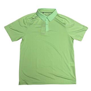アンダーアーマー(UNDER ARMOUR)のUNDER ARMOUR ゴルフ シャツ ライトグリーン XL(ウエア)