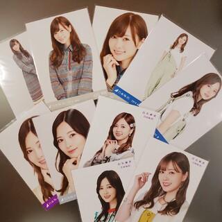 ノギザカフォーティーシックス(乃木坂46)の白石麻衣 生写真 JUN AUG (アイドルグッズ)