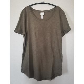 エイチアンドエム(H&M)の【H&M 】ラウンドヘムカットソー(Tシャツ(半袖/袖なし))