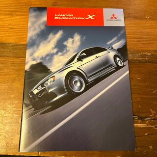 ミツビシ(三菱)の三菱 ランサーエボリューションx ランエボx カタログ 2009(カタログ/マニュアル)