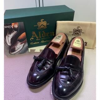 Alden - 【美品】ALDEN オールデン タッセルローファー バーガンディ