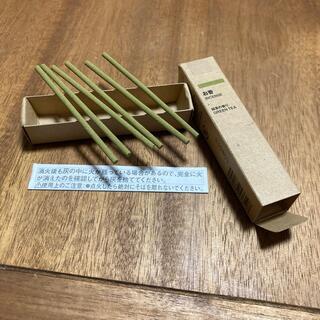 ムジルシリョウヒン(MUJI (無印良品))の無印良品 お香 緑茶の香り スティックタイプ 6本(お香/香炉)