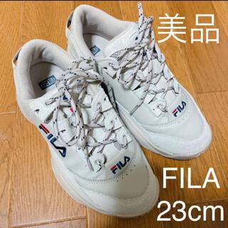 FILA - FILA×FOLDERコラボスニーカー 23cm 韓国 限定 フィラ