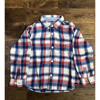 ミキハウス(mikihouse)のチェックシャツ 110(ブラウス)