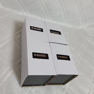 ジーショック(G-SHOCK)の送料無料 ジーショック 化粧箱4つ(その他)