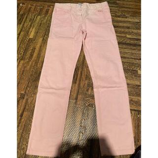 プチバトー(PETIT BATEAU)のbaiya プチバトー ズボン パンツ カラー ピンク スキニー 140(パンツ/スパッツ)