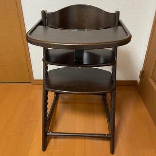 ヤマトヤ(大和屋)の大和屋 マテルナEUテーブルガード  木製 子供用椅子 ハイチェア(その他)