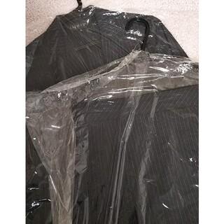 インディヴィ(INDIVI)のスーツ ジャケット スカート ネイビー ストライプ(スーツ)