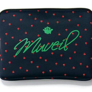 ミュベールワーク(MUVEIL WORK)のミュベール×BAILA りんご柄ボンディングケース(ポーチ)