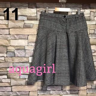 アクアガール(aquagirl)のaquagirl(アクアガール) スカート レディース Mサイズ(ひざ丈スカート)