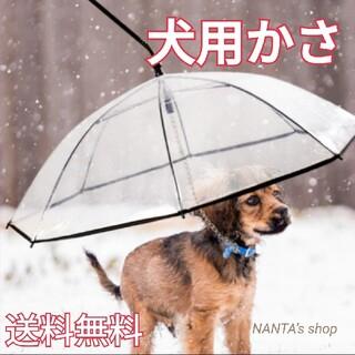 犬用傘 ペット用傘 猫用傘 ドック dog cat ペット用品 リード接続 (犬)