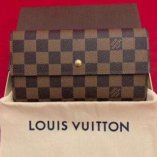 ルイヴィトン(LOUIS VUITTON)のルイヴィトン☆ポルトトレゾールインターナショナル三つ折り長財布(財布)