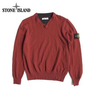 STONE ISLAND - 【美品】ストーンアイランド セーター メンズ ニット Lサイズ ウール 羊系