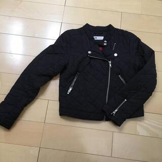 エイチアンドエム(H&M)のH&Mキルティング ライダースジャケット150(ジャケット/上着)