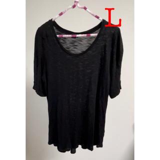 エイチアンドエム(H&M)の透け感 Tシャツカットソー(Tシャツ(半袖/袖なし))