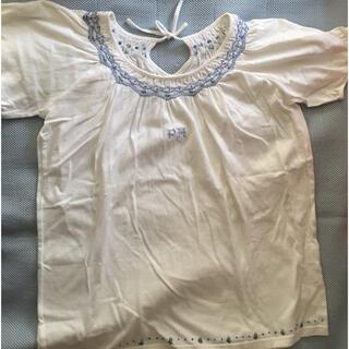 ピンクハウス(PINK HOUSE)のピンクハウス 可愛い半袖カットソー 白(Tシャツ(半袖/袖なし))