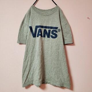 ヴァンズ(VANS)の☆ VANS バンズ ビッグロゴ 半袖 Tシャツ 古着(Tシャツ/カットソー(半袖/袖なし))