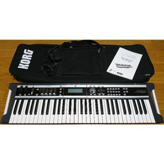 コルグ(KORG)のKORG X50 Synthesizer シンセサイザー(スタンド付き)(キーボード/シンセサイザー)