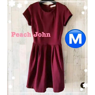 ピーチジョン(PEACH JOHN)のピーチ・ジョン☆大人可愛いワンピース Mサイズ(ひざ丈ワンピース)