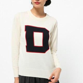 ダブルスタンダードクロージング(DOUBLE STANDARD CLOTHING)のダブルスタンダードクロージングニットトップ美品(ニット/セーター)