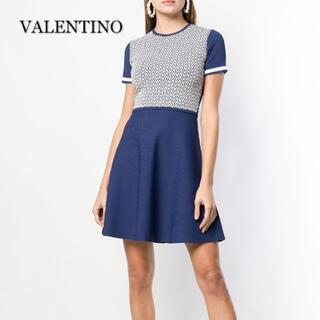 ヴァレンティノ(VALENTINO)のVALENTINO ヴァレンティノ ワンピース(ひざ丈ワンピース)