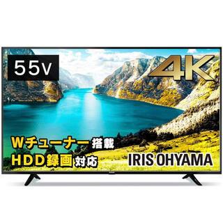 アイリスオーヤマ(アイリスオーヤマ)のアイリスオーヤマ 55型 4K対応 液晶テレビ 55UB10P 裏番組録画対応(テレビ)