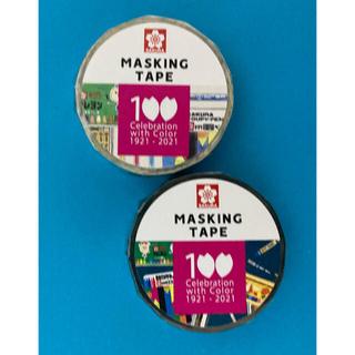 サクラクレパス - マスキングテープ サクラクレパス100周年記念デザイン