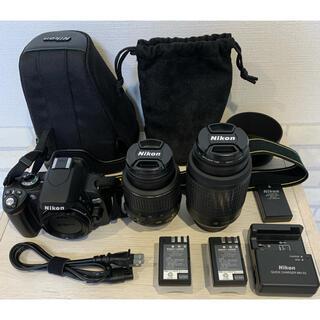 Nikon - Nikon ニコン  D60 オートフォーカス デジタルカメラ 一眼レフ