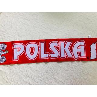サッカー ポーランド代表 マフラー